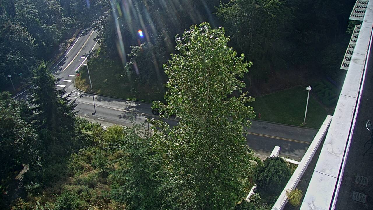 Traffic camera image of Intersection of Campus Drive & Terwilliger Blvd